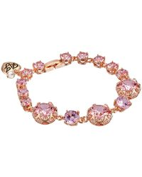 Betsey Johnson | Pink All That Glitters Bracelet | Lyst