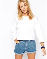 ASOS | Blue The Ultimate Sweatshirt With Pocket | Lyst