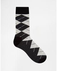 Happy Socks | Black Hs By In 3 Pack for Men | Lyst