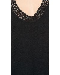Madison Marcus - Preen T Back Lace Dress Black - Lyst