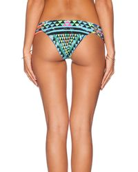 Mara Hoffman | Multicolor Lattice Weave Bikini Bottom | Lyst