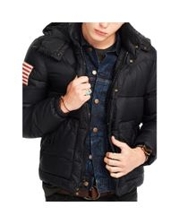 Denim & Supply Ralph Lauren | Black Quilted Ripstop Down Jacket for Men | Lyst