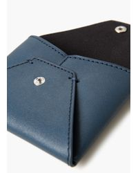 Mango | Blue Envelope Purse | Lyst