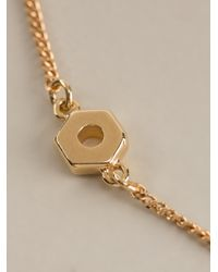 Marc By Marc Jacobs - Metallic Long Necklace - Lyst