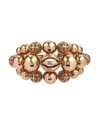 Etro Metallic Sphere-Shaped Brass Cuff