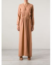 Forte Forte Natural V-Neck Dress