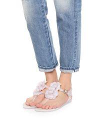 Melissa | Pink Solar Garden Sandals | Lyst