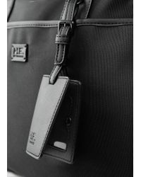 Mango - Black Incorporated Cardholder Nylon Briefcase - Lyst