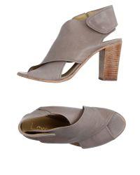 Lemarè | Gray Sandals | Lyst