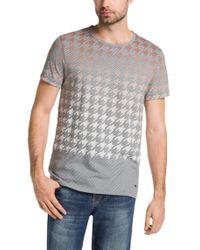 BOSS Orange | Gray 'trucker' | Cotton Slub Henley Shirt for Men | Lyst