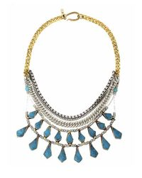 Vanessa Mooney | Blue The Sheba Necklace In Turquoise Multi | Lyst