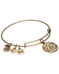 ALEX AND ANI - Metallic Auburn University® Logo Charm Bangle - Lyst
