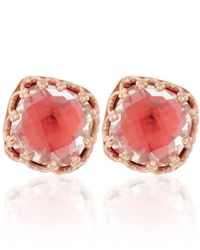 Larkspur & Hawk | Pink Small Clementine Topaz Jane Stud Earrings | Lyst