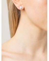 Dana Rebecca | White 'lori Paige' Earrings | Lyst