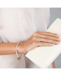Astley Clarke - White Thundercloud Cosmos Friendship Bracelet - Lyst