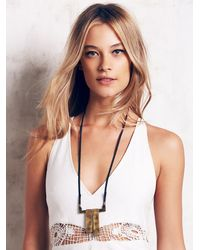 Free People - Metallic Aq For Fp By Artemas Quibble Womens Aq Bar Pendant - Lyst