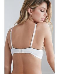 Forever 21 - Natural Light Push-up Lace Bra - Lyst