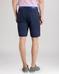 Ted Baker Blue Shoaks Chino Shorts for men