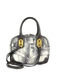 Dolce & Gabbana | Metallic Miss Edge Small Bowling Baggrey | Lyst