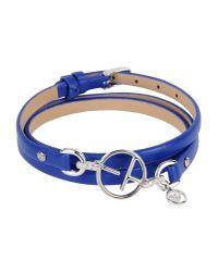 Emporio Armani | Blue Bracelet | Lyst