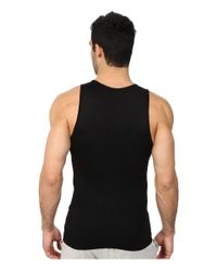 Spanx   Black Targeted Core Tank for Men   Lyst