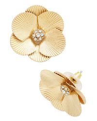 Muchtoomuch - Metallic Sparkle In The Sunlight Earrings - Lyst