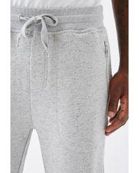Forever 21 - Gray Speckled Zip-pocket Sweatpants for Men - Lyst
