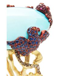 Lydia Courteille | Multicolor One Of A Kind Turquoise Ring | Lyst