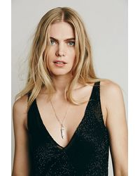 Free People - White Samantha Wills Womens Mineral Pendant - Lyst