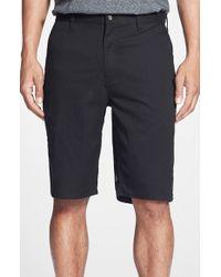 Volcom - Black Modern Stretch Shorts for Men - Lyst