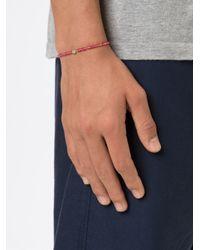 Luis Morais | Pink Coptic Cross Spacer Beaded Bracelet | Lyst