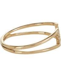 Jennie Kwon - Metallic Diamond & Gold Buckle Ring - Lyst