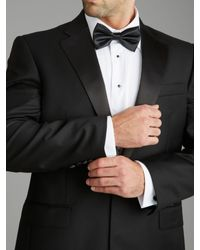 Paul Costelloe Black Modern Fit Ballinatra Dinner Jacket for men