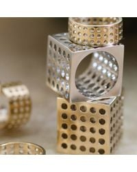 Kelly Wearstler | Metallic Precision Ring | Lyst