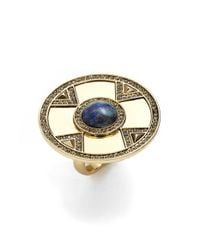House of Harlow 1960 - Metallic 1960 'dorelia Coin' Cocktail Ring - Lyst