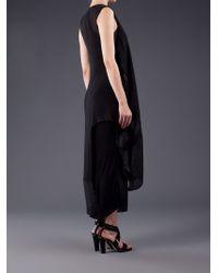 Alessandra Marchi Black Silk Vest
