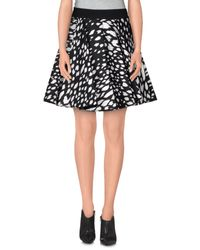 Fausto Puglisi Black Mini Skirt