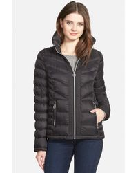 MICHAEL Michael Kors Black Quilted Down-Filled Jacket