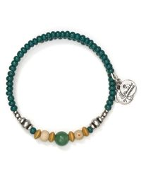 ALEX AND ANI - Green Vintage 66 Canyon Wrap Bracelet - Lyst