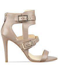 Ivanka Trump | Brown Donalu Dress Sandals | Lyst
