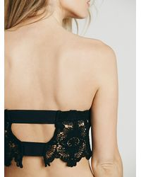 Free People | Black Intimately Womens Lovin Lace Brami | Lyst