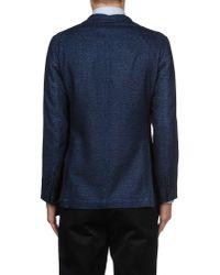 Roda - Blue Blazer for Men - Lyst