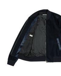 Paul Smith - Blue Velvet Bomber Jacket for Men - Lyst