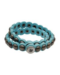 DSquared² - Blue Bracelet for Men - Lyst