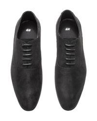 H&M Black Oxford Shoes for men