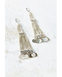 Urban Outfitters - Metallic White Sands Drop Earring - Lyst