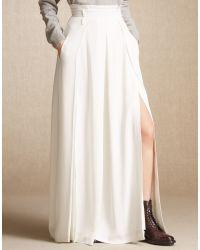 Belstaff | White Petra Skirt | Lyst