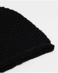 Zara | Black Knitted Hat | Lyst