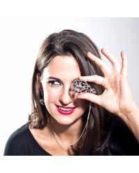 Manja | Metallic Divotra Necklace | Lyst