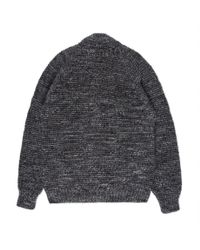 Paul Smith | Gray Men's Grey Mélange Wool-alpaca Zip-through Cardigan for Men | Lyst